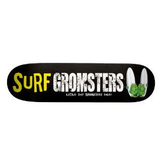 Surf Gromsters fully black Custom Skateboard