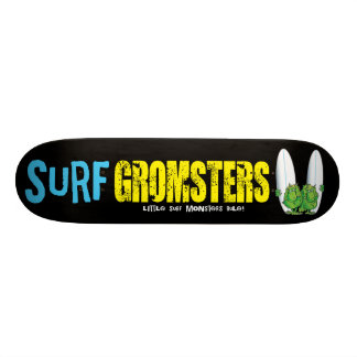 Surf Gromsters yellow deck Skateboard