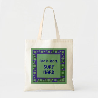 surf hard tote bags