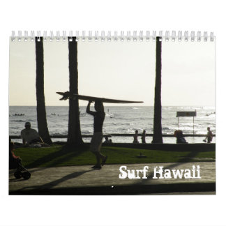 Surf Hawaii Calendar