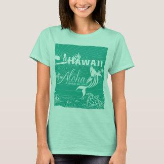 Surf Hawaii green sea T-Shirt