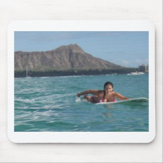 Surf Hawaii Mouse Pad