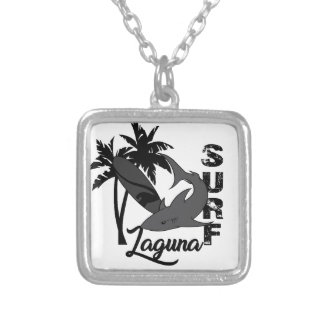 Surf - Laguna Silver Plated Necklace
