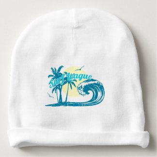 Surf league baby beanie