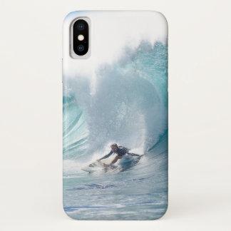 Surf Legend Rochelle Ballard Surfing Hawaiian Wave iPhone X Case