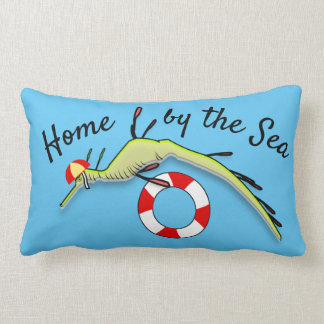Surf Lifeguard Sea Dragon Lumbar Pillow