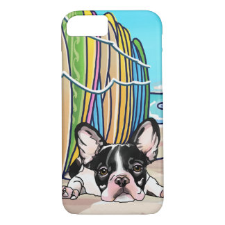 Surf Love French Bulldog iPhone 8/7 Case