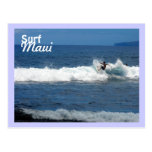 Surf Maui, Olowalu Beach, Lahaina, Hawaii Post Card