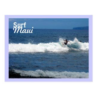 Surf Maui, Olowalu Beach, Lahaina, Hawaii Postcard