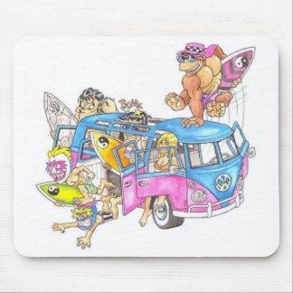 surf minibus mousepads