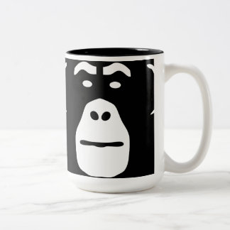 Surf Munkey logo on a mug