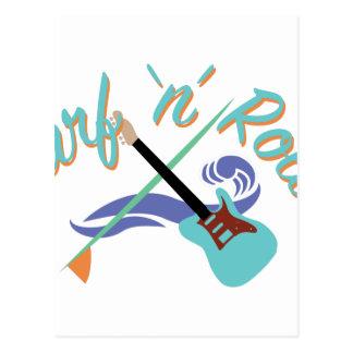 Surf N Roll Postcard