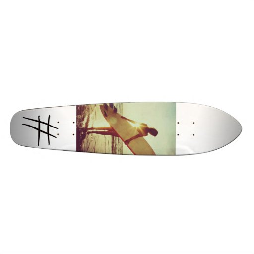 Surf n Skate by AthSwag Custom Skateboard