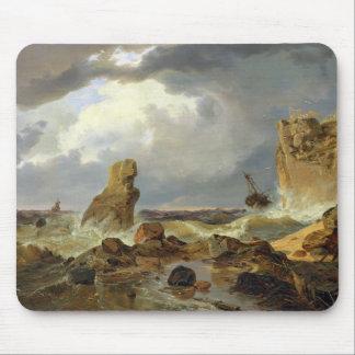 Surf on a Rocky Coast, 1835 Mouse Pad
