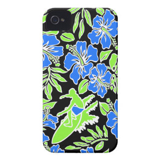 Surf Pareau Hawaiian iPhone 4 Case