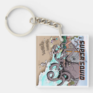 Surf Party keychain