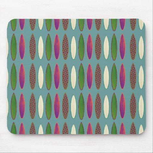 surf pattern . boards mousepads