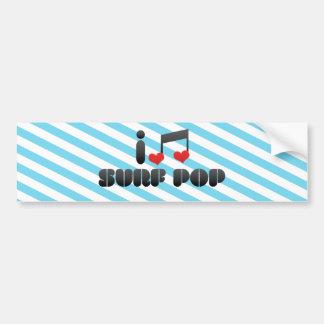 Surf Pop Bumper Sticker