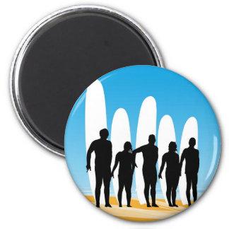 Surf pose magnet