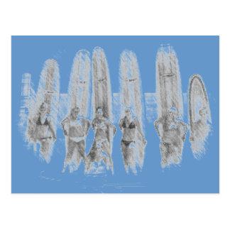 Surf Postcard