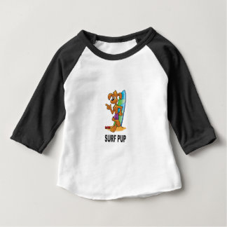 surf pup cartoon baby T-Shirt
