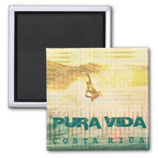 Surf Pura Vida Costa Rica Magnet