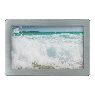surf rectangular belt buckle
