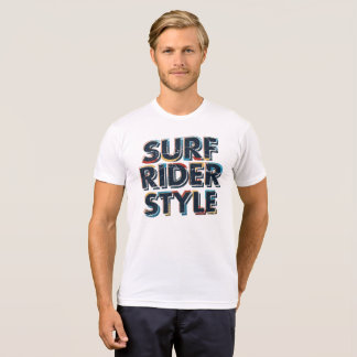 Surf Rider Style T-Shirt