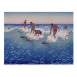 'Surf-Riders, Honolulu' - Postcard