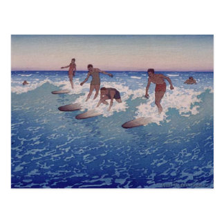 'Surf-Riders, Honolulu' - Postcard