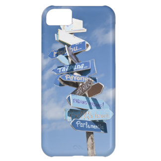 Surf roadsigns iPhone 5C case
