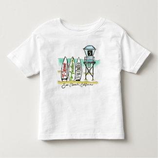 Surf San Clemente Toddler Shirt