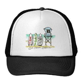 Surf San Clemente Trucker Hat