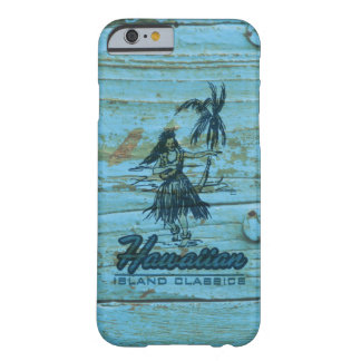 Surf Shack Hawaiian Faux Wood Barely There iPhone 6 Case