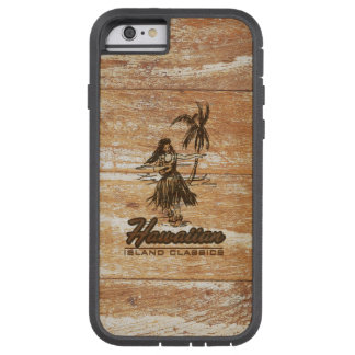 Surf Shack Hawaiian Faux Wood Tough Xtreme iPhone 6 Case