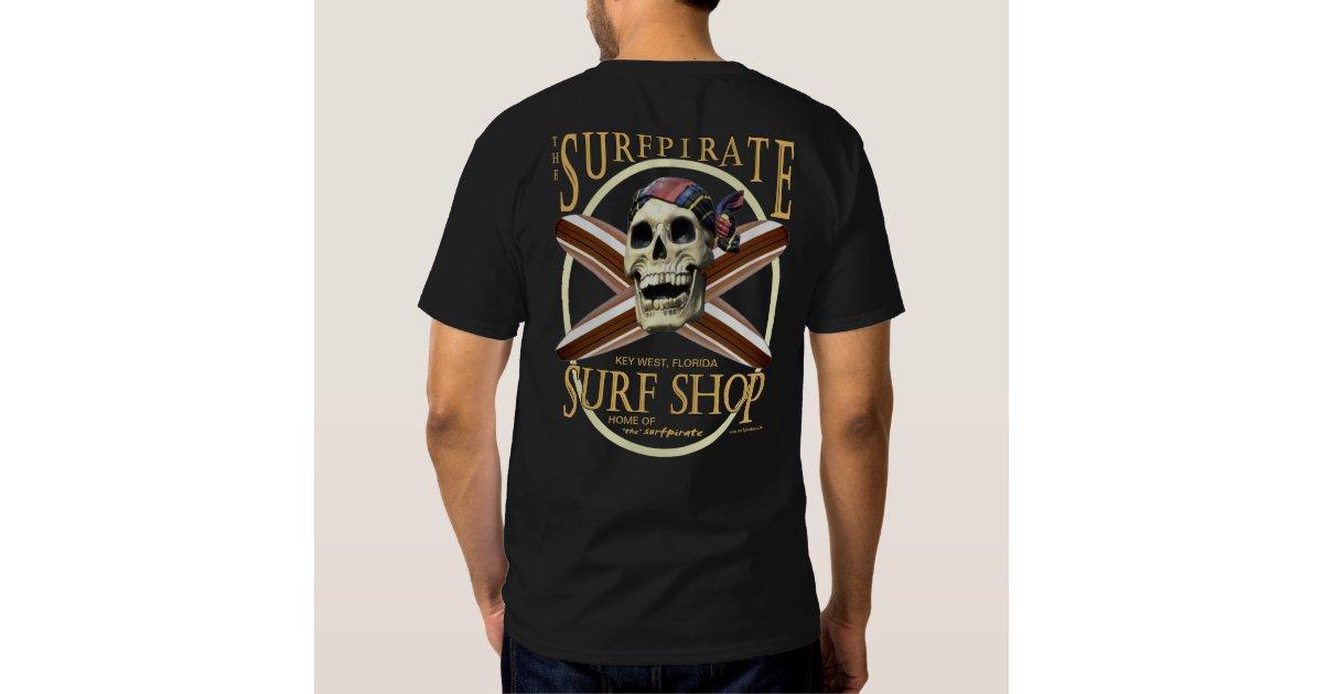Surf shop vintage key west t shirts zazzle for Surf shop tee shirts