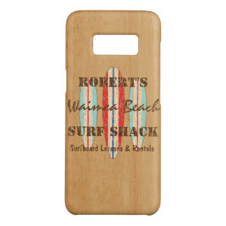 Surf Sign Customize Monogram Hawaiian Surfboards Case-Mate Samsung Galaxy S8 Case