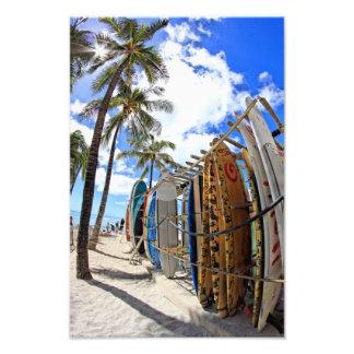 Surf & Sun Waikiki Photo Print