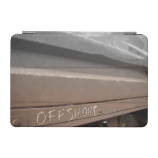 Surf surfboard offshore surfing Grey brown iPad Mini Cover