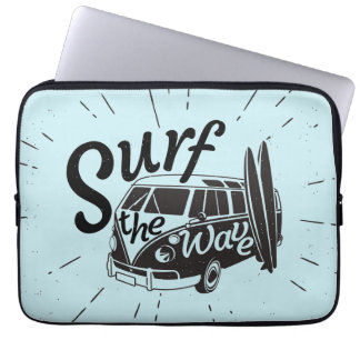 Surf The Wave Laptop Sleeve