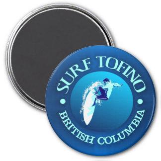 Surf Tofino 3 Inch Round Magnet