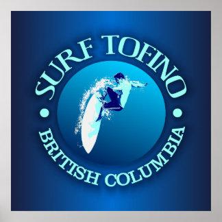 Surf Tofino Poster