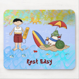 Surf up Dude Mouse Pad