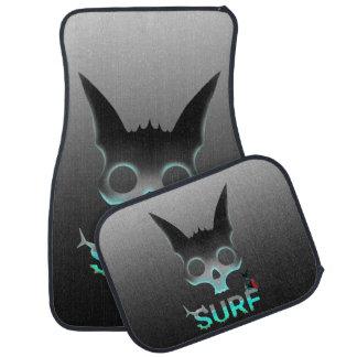 Surf Urban Graffiti Cool Cat Car Mat