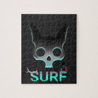 Surf Urban Graffiti Cool Cat Jigsaw Puzzle