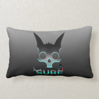 Surf Urban Graffiti Cool Cat Lumbar Pillow