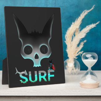 Surf Urban Graffiti Cool Cat Plaque