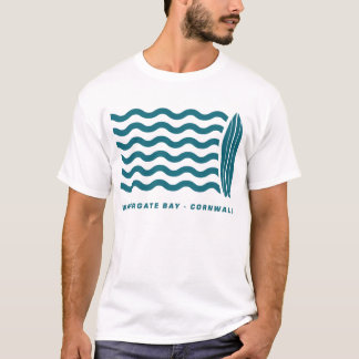 Surf Watergate Bay in Cornwall T-Shirt