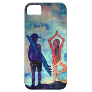 Surf Yoga iPhone SE + iPhone 5/5S, Barely There iPhone 5 Case