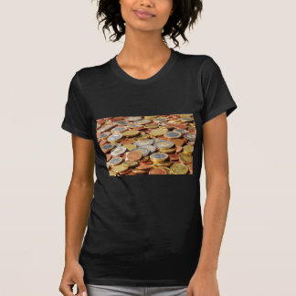 Surface from euro coins T-Shirt